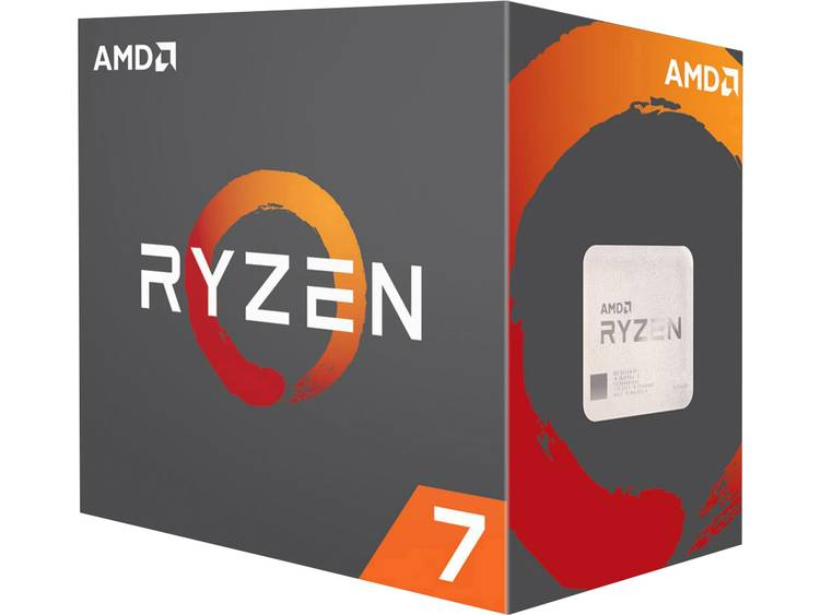 Processor (CPU) WOF AMD Ryzen 7 1800X 8 x 3.6 GHz Octa Core Socket: AMD AM4 95 W
