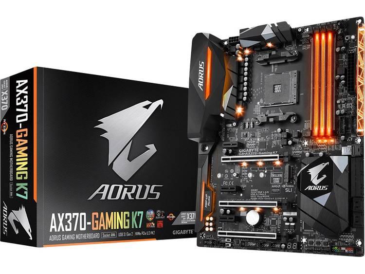 Gigabyte GA-AX370-Gaming K7 Moederbord Socket AMD AM4 Vormfactor ATX Moederbord chipset AMD® X370