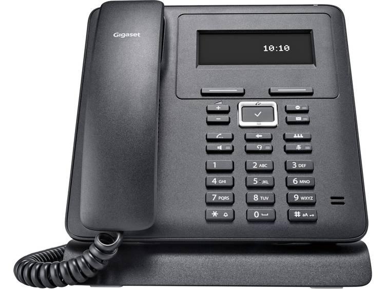 Gigaset Pro Maxwell Basic Bedrade VoIP telefoon Zwart