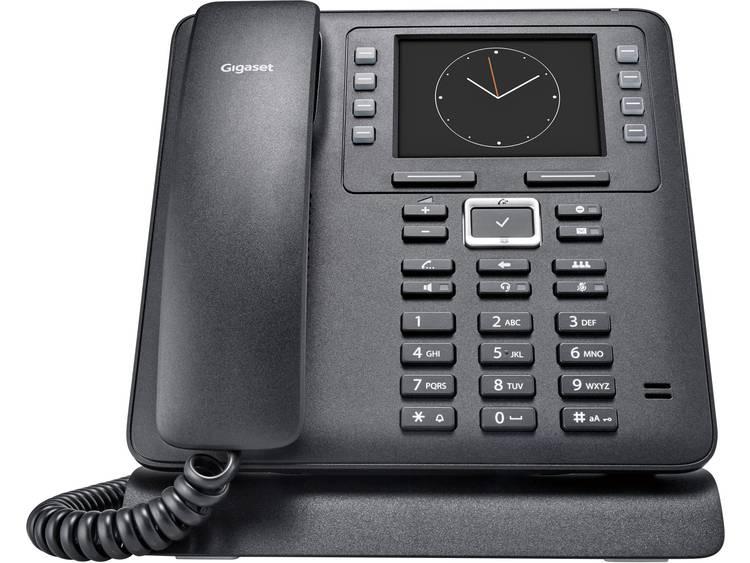 Gigaset Pro Maxwell 3 Bedrade VoIP telefoon Zwart