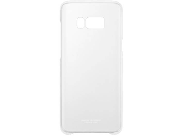 Samsung Galaxy S8 Plus Clear Cover EF-QG955CS Zilver