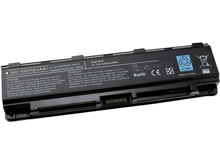 Laptopaccu ipc-computer Vervangt originele accu P000556690, P000556700, P000556720, PA5023U-1BRS, PA