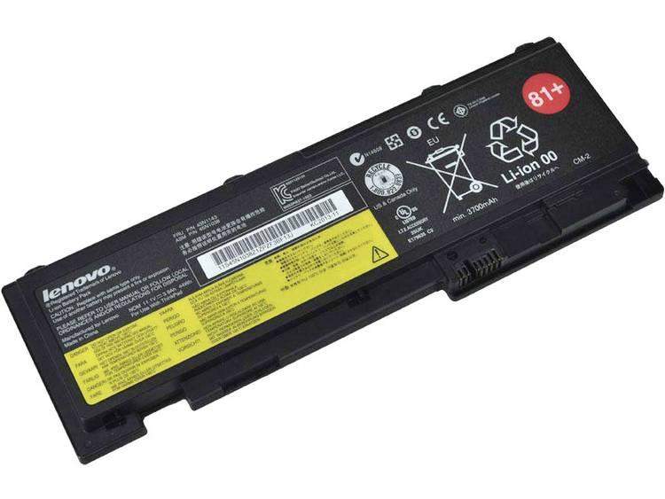 Laptopaccu Lenovo Vervangt originele accu 45N1037, 42T4845, 42T4847, 45N1039 11.1 V 3900 mAh