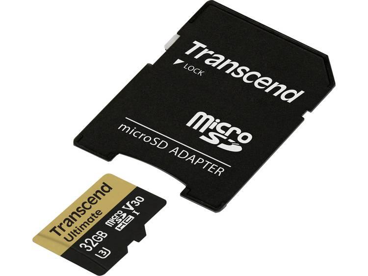 Transcend TS32GUSDU3M 32GB MicroSDHC Klasse 10 flashgeheugen