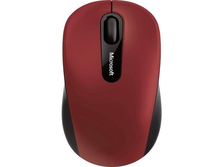 Microsoft Bluetooth muis Optisch Zwart/rood