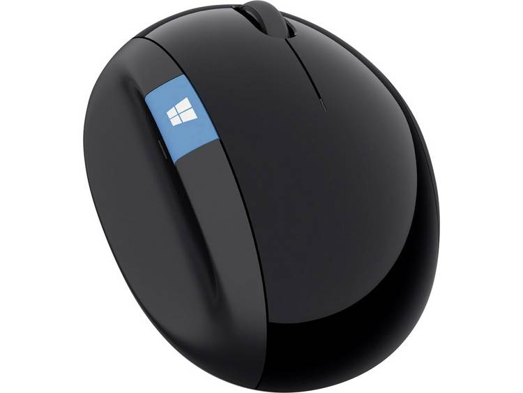 Microsoft Sculp Ergonomic Draadloze muis Infrarood Ergonomisch Zwart
