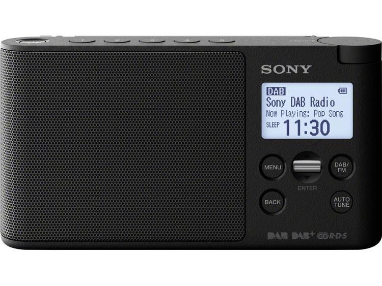 Sony XDR-S41D DAB+ Tafelradio DAB+, FM Zwart