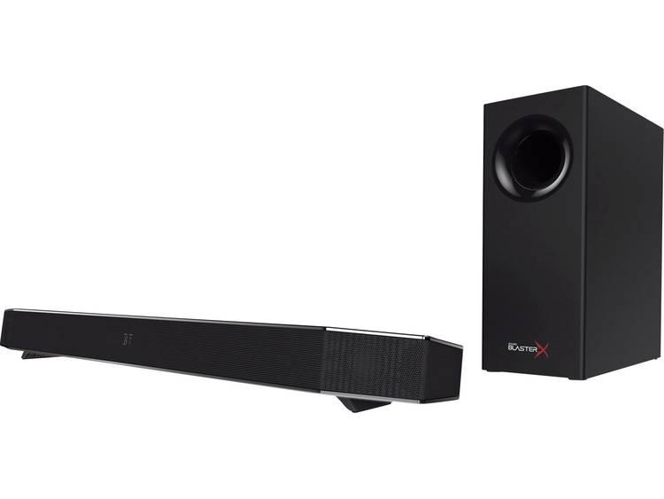 Sound BlasterX 2.1 PC-luidsprekers Kabelgebonden 75 W Zwart