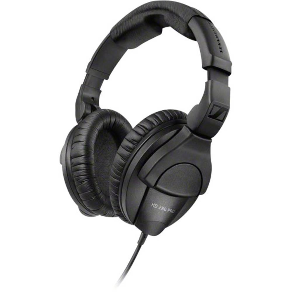 Sennheiser HD 280 Pro HiFi Over Ear hörlurar Over Ear Brusreducering Svart