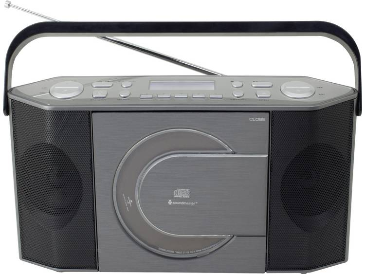 Soundmaster RCD1770 koffer DAB+ radio met CD speler