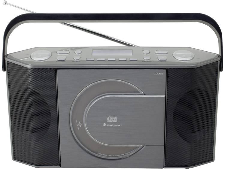 SoundMaster RCD1770AN DAB+ Tafelradio CD, DAB+, USB Grijs