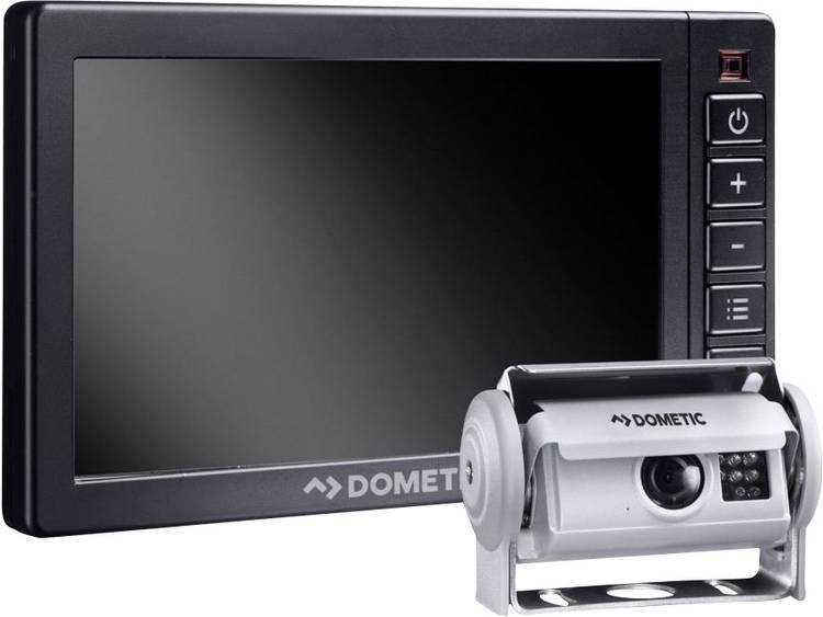 Dometic Group PerfectView RVS 580X Kabelgebonden achteruitrijcamera systeem 4 camera ingangen, Afstandshulplijnen, Automatische dag nachtomschakeling,