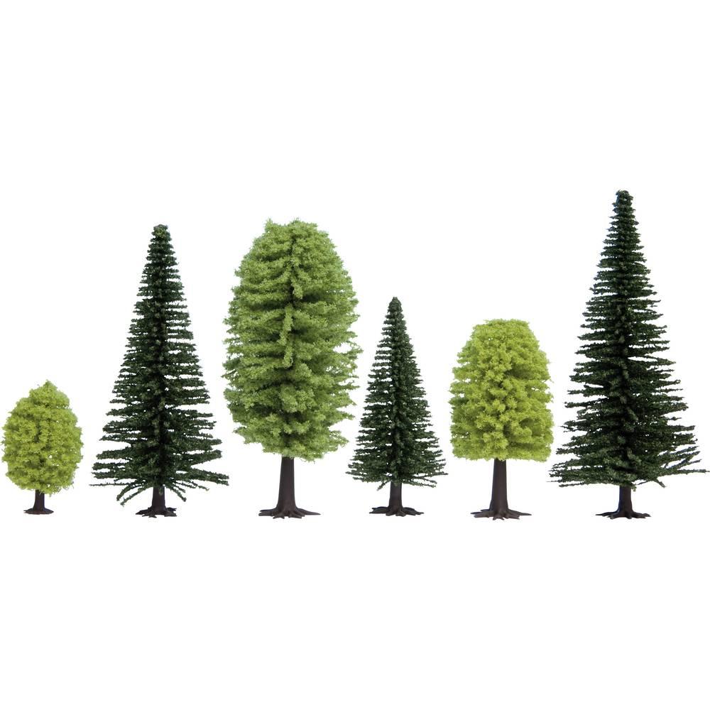 Trädpack Blandskog 50 till 140 mm NOCH Hobby 26911 10 st
