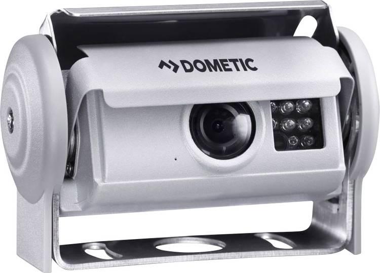 Dometic Group PerfectView CAM 80 NAV Kabelgebonden achteruitrijcamera Geïntegreerde verwarming. Shutter. Spiegelfunctie Opbouw Zilver