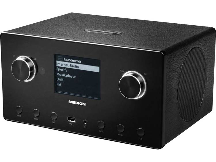 Medion P85096 (MD87516) Internet Tafelradio Bluetooth, AUX, DAB+, Internetradio,
