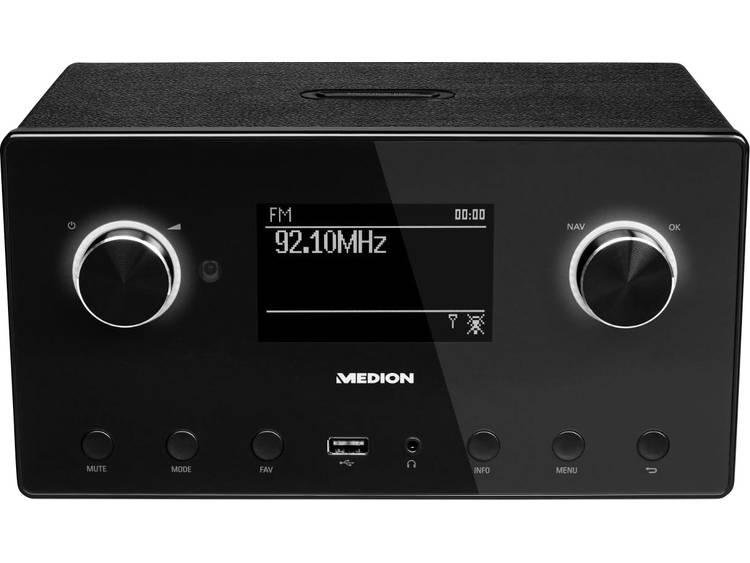 Medion P85080 (MD87523) Tafelradio met internetradio DAB+, FM AUX, Bluetooth, In