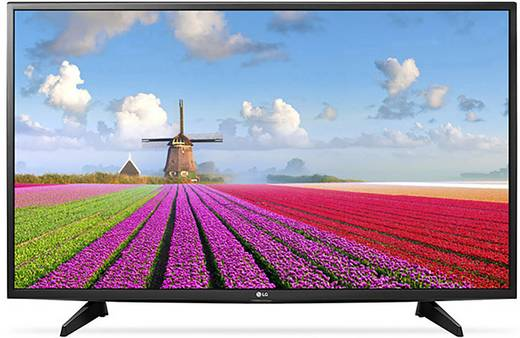 LED-TV 49 inch LG Electronics 49LJ515V Zwart