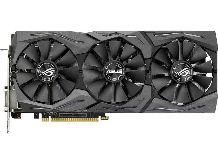 Videokaart Asus Nvidia GeForce GTX1080 Advanced Gaming 8 GB GDDR5X-RAM PCIe x16 HDMI, DVI, DisplayPort