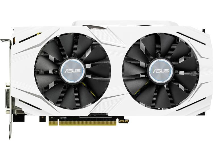 Videokaart Asus Nvidia GeForce GTX1060 Dual Overclocked 3 GB GDDR5-RAM PCIe x16 HDMI, DVI, DisplayPort