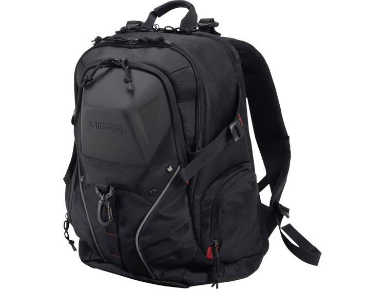 Dicota Tasche / Notebook / Backpack E-Sports / Laptoprugzak Geschikt voor max.: 43,9 cm (17,3) Zwart