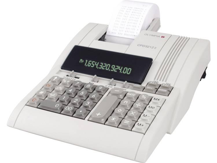 Rekenmachine Olympia cpd 3212 s met telrol