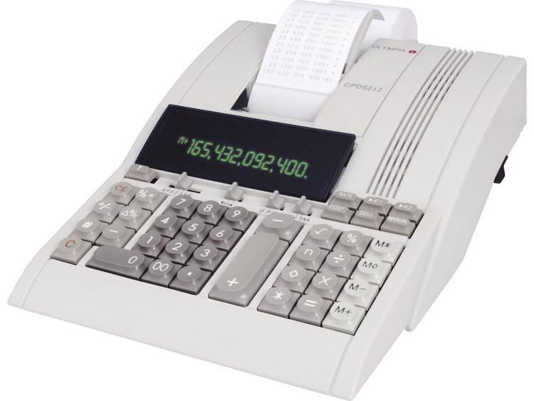 Rekenmachine Olympia cpd 5212 e+csm met telrol