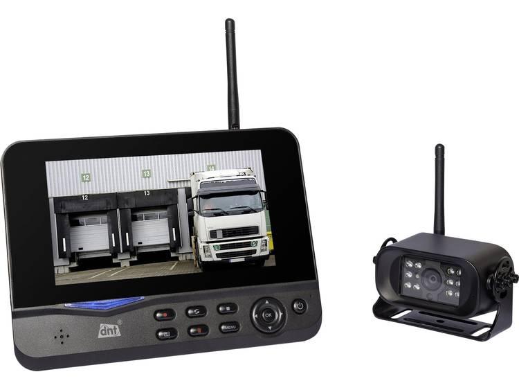 Draadloos achteruitrijcamera systeem dnt Rückfahrvideosystem RFK Digital 4 camera-ingangen, Automat