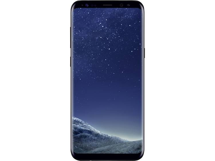 Samsung Galaxy S8+ Single-SIM LTE smartphone 15.7 cm (6.2 inch) 2.3 GHz Octa Core 64 GB 12 Mpix Android 7.0 Nougat Zwart