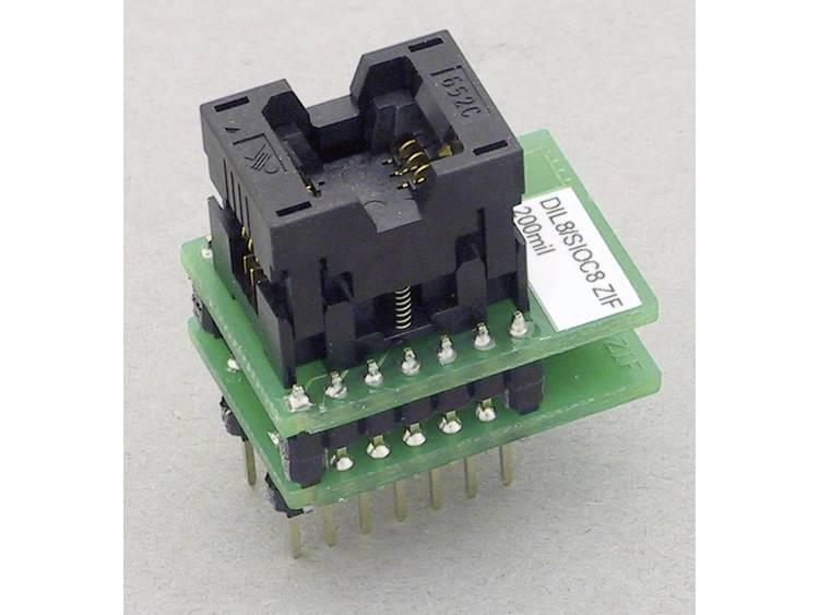 Adapter voor Elnec-programmer Elnec 70-0919 Uitvoering DIL8-SOIC8 ZIF 200 mil