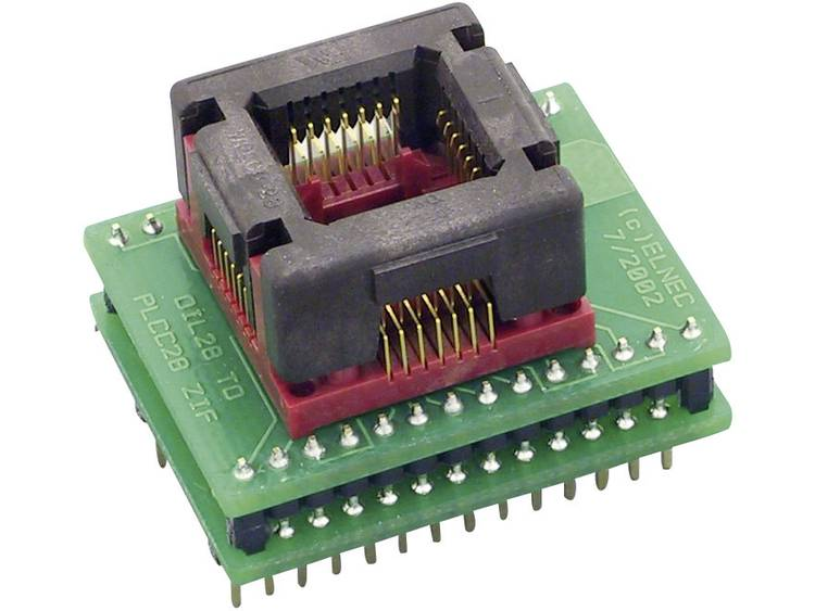 Adapter voor Elnec-programmer Elnec 70-0066 Uitvoering DIL28-PLCC28 ZIF