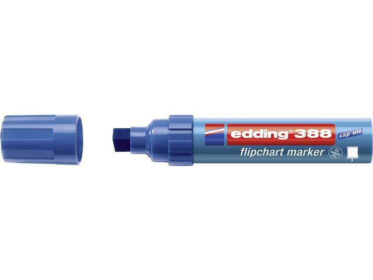Edding 4-388003 Flipchartmarker 388 Beitelpunt 4 - 12 mm Blauw 1 stuks