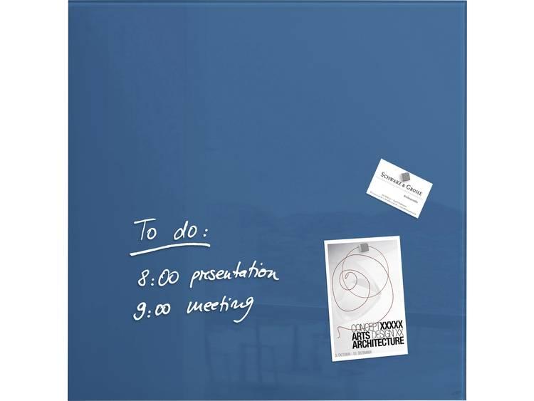 Sigel artverum® (b x h x d) 480 x 480 x 15 mm Petrol-blauw GL252