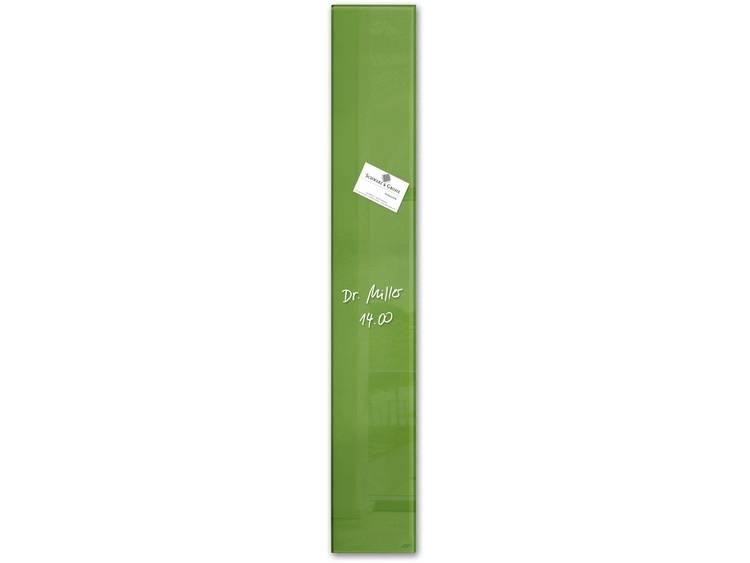 Sigel artverum® (b x h x d) 120 x 780 x 15 mm Groen GL251