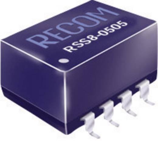 RECOM RSS8-1212 DC/DC-converter, SMD 12 V/DC 12 V/DC 84 mA 1 W Aantal uitgangen: 1 x