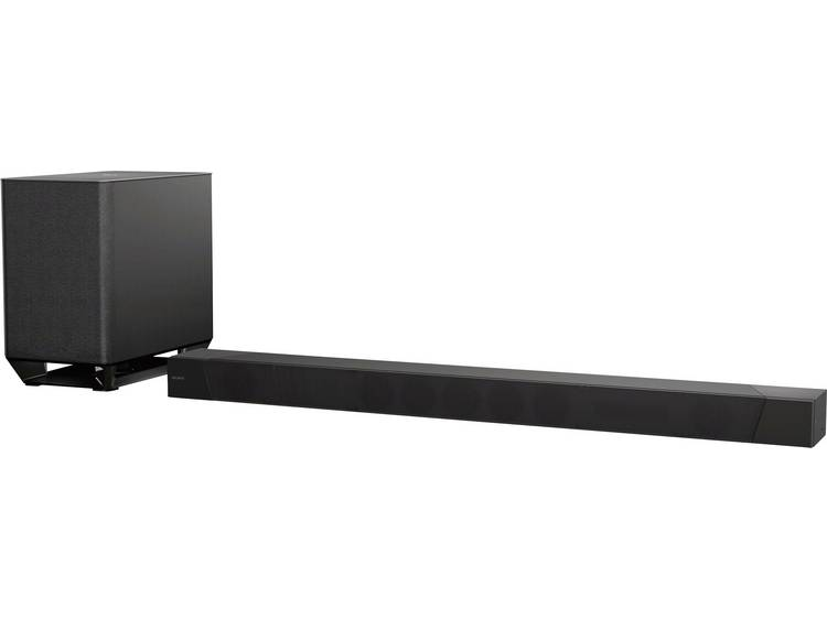 Sony HT-ST5000 Soundbar Zwart Bluetooth, High-Resolution Audio, Incl. draadloze