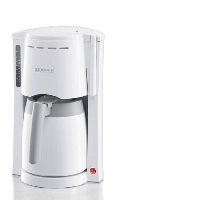 Image of Koffiezetapparaat Severin KA 4114 Wit-grijs Capaciteit koppen=8