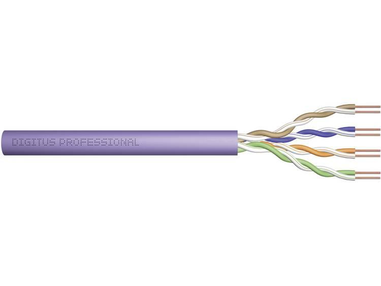 Digitus DK-1611-V-305-NC Netwerkkabel CAT 6 U/UTP 4 x 2 x 0.25 mm² Violet 305 m