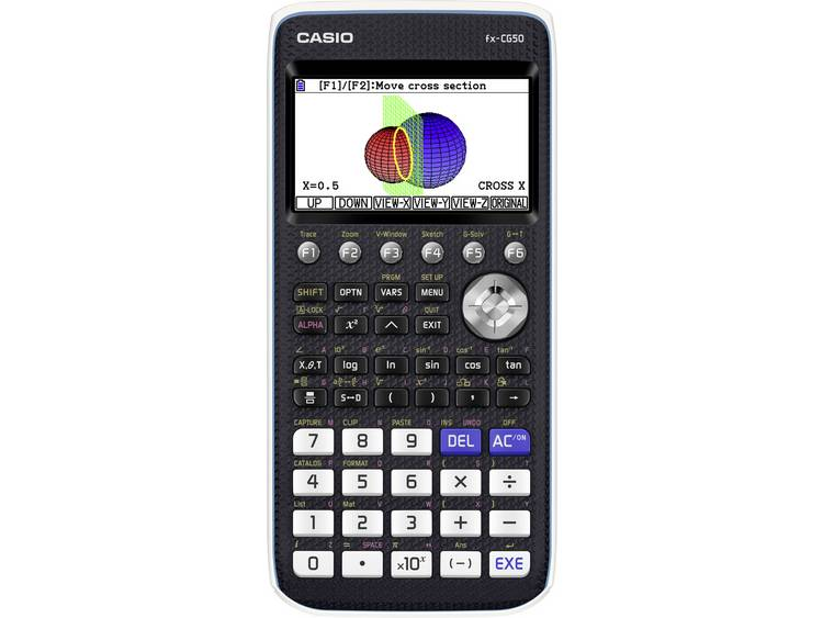Grafische rekenmachine Casio fx CG50 Zwart Aantal displayposities 21 werkt op b