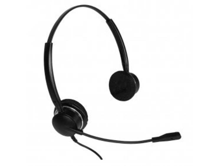 Imtradex QD (Quick Disconnect) Telefoonheadset Zwart