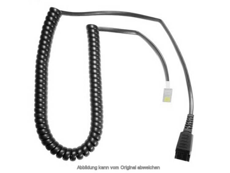 Telefoonheadset kabel AK-1 PS DEX-QD Zwart