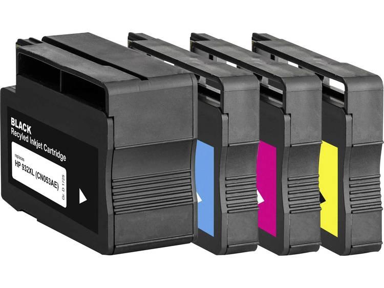 Basetech vervangt HP 932, 932XL, 933XL Compatibel Combipack Zwart, Cyaan, Magenta, Geel BTH174 1725,4005-126