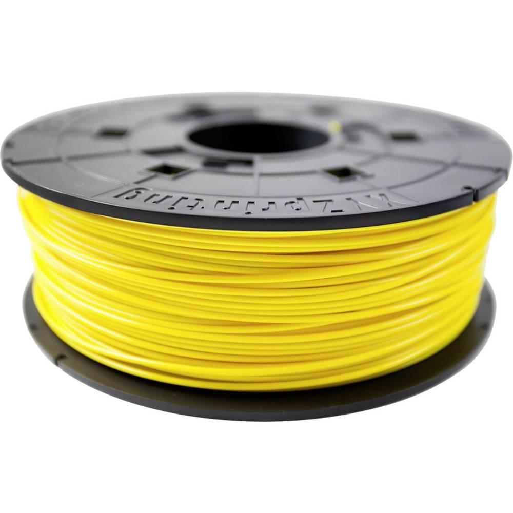 3D-skrivare Filament XYZprinting PLA-plast 1.75 mm Gul 600 g Junior