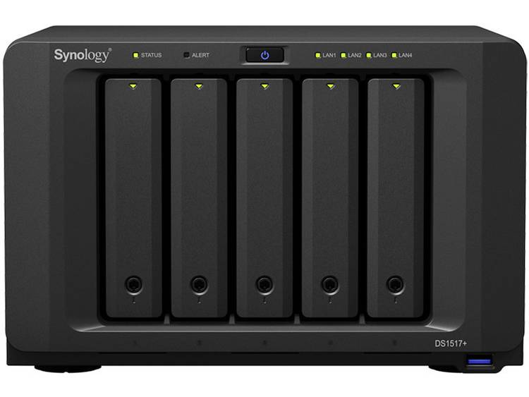Synology DiskStation DS1517+ (2GB) NAS-serverbehzuizing
