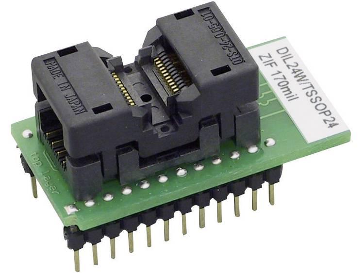 Adapter voor Elnec-programmer Elnec 70-0915 Uitvoering DIL24W-TSSOP24 ZIF 170 mil
