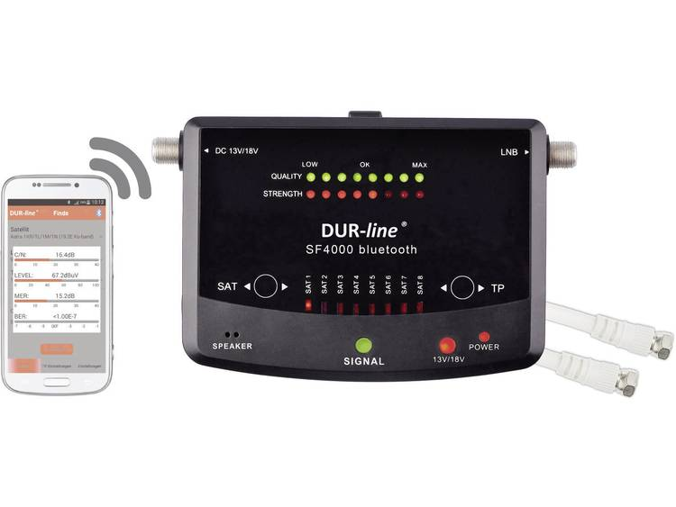 DUR-line SF 4000 BT SAT finder