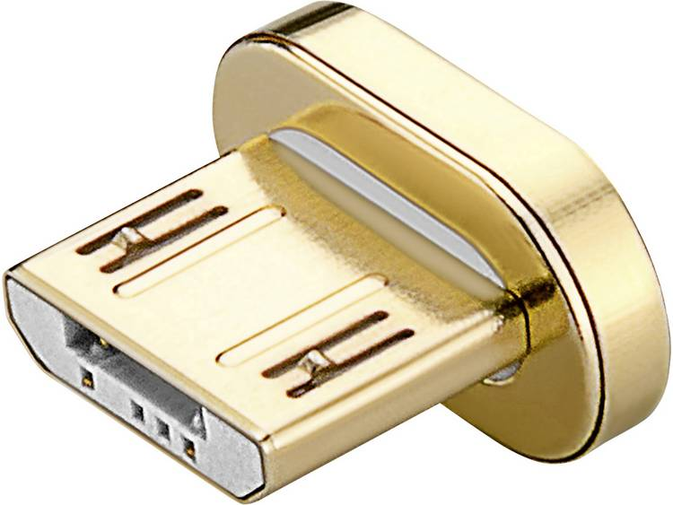 USB 2.0 Kabel Goobay Goud