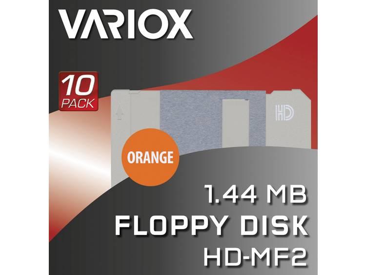 Variox 1.44 MB 3.5 diskette 10 stuks
