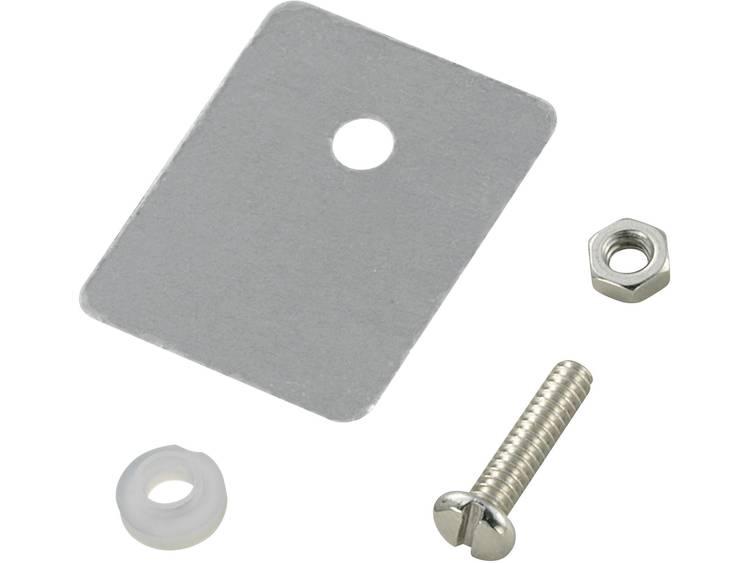Halfgeleider montageset (l x b) 25 mm x 22 mm Geschikt voor TO-218 TRU COMPONENTS TC-A18-9D 1 set