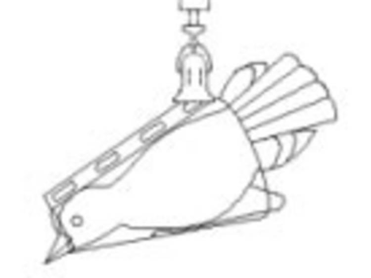 Sauter 281-891 Vogelwiegekonus voor veerbalansen (50-500 g)