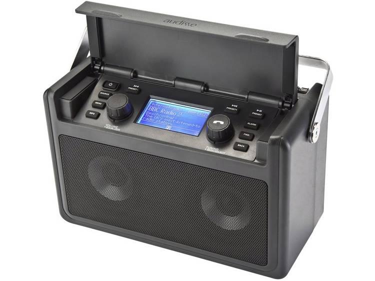 audisse Shirudo Bouwradio met internetradio DAB+, FM Bluetooth, Internetradio, U